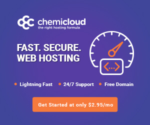 ChemiCloud hosting